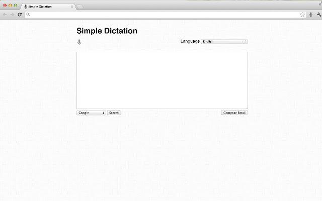 Simple Dictation