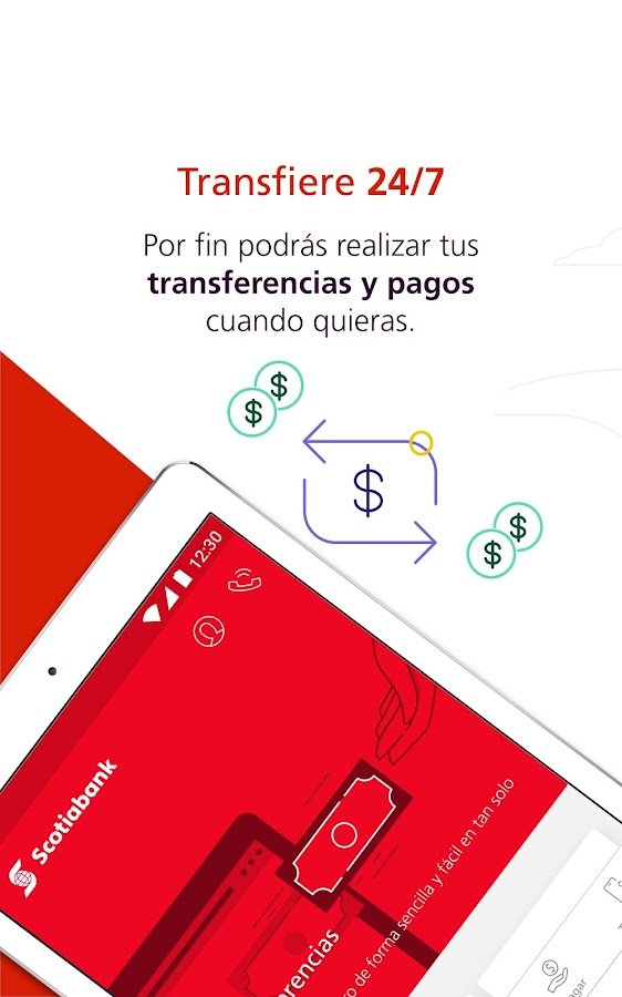 ScotiaMóvil- screenshot