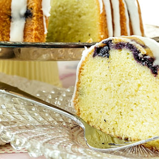 Thai-Inspired Blueberry Lemongrass Pound Cake (Nancie Cake)
