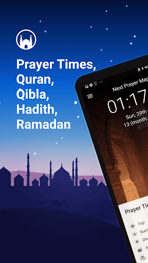 Athan Pro - Azan & Prayer Times & Qibla screenshot 1