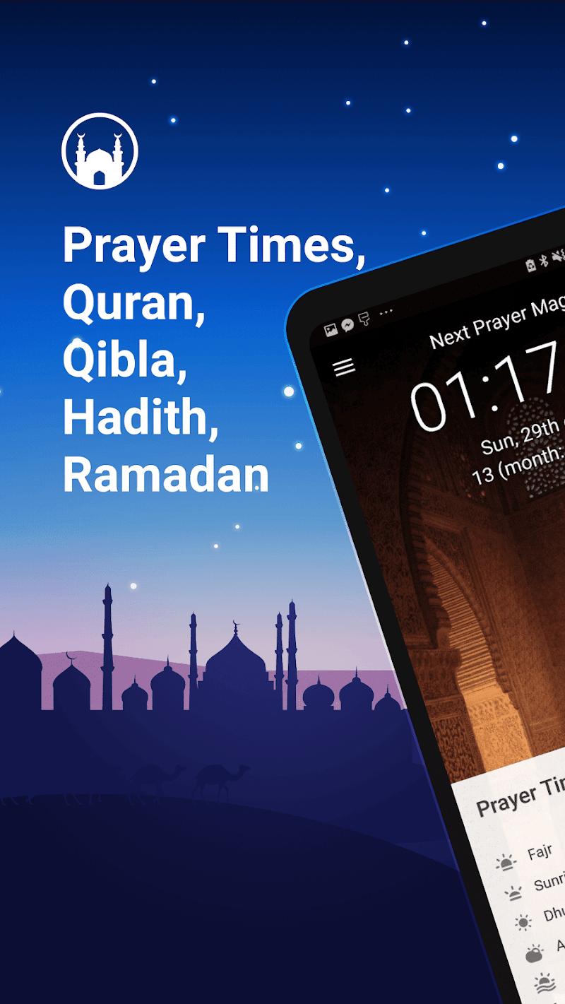 Athan Pro Muslim: Prayer Times Quran & Qibla Screenshot