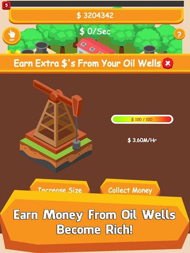 Oil Tycoon - Idle Clicker Game  mod screenshots 3