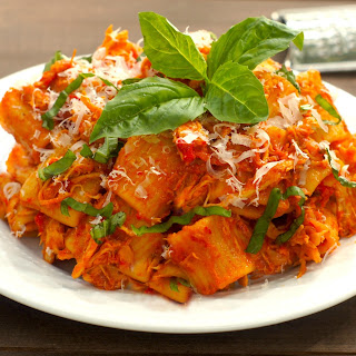 One-Pot Spicy Chicken + Rigatoni