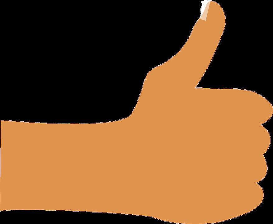 記号 手 親指 指 信号 親指