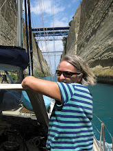 Photo: Denny in Corinth Canal
