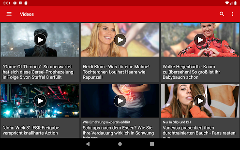 App FOCUS Online - Nachrichten: Die schnelle News App APK for Windows Phone