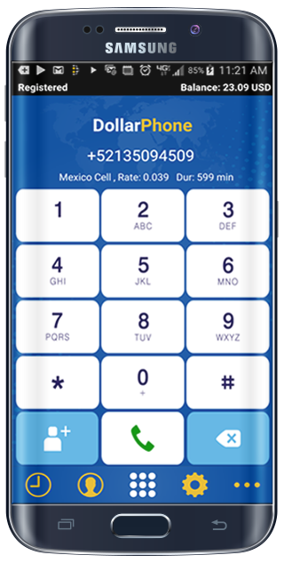 DollarPhone Free & Cheap Calls- screenshot