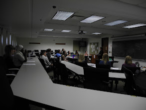 Photo: 4.11.13 anti-harassment workshop with Marty Langelan at Georgetown Law School in Washington, DC