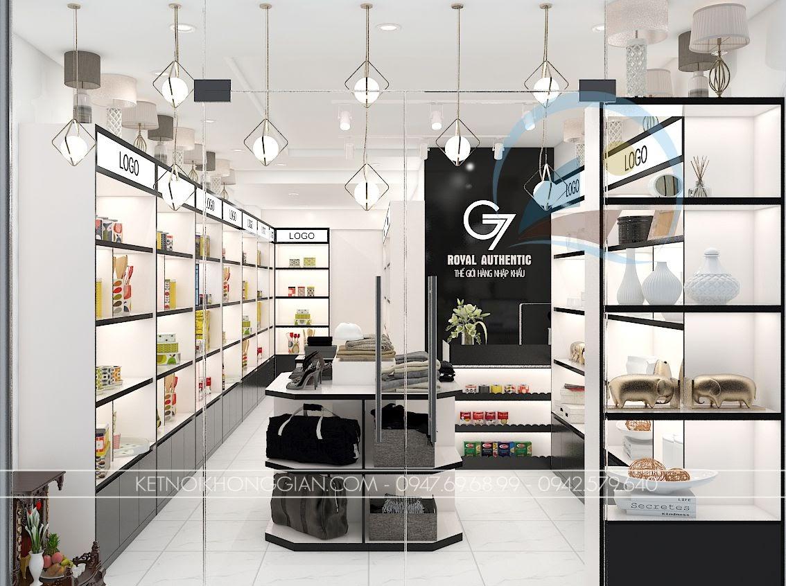 Thiết kế cửa hàng đồ nhập khẩu - thiết kế shop đồ nhập khẩu 1