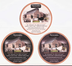 Photo: These are the backs of the beermats in the previous photo.