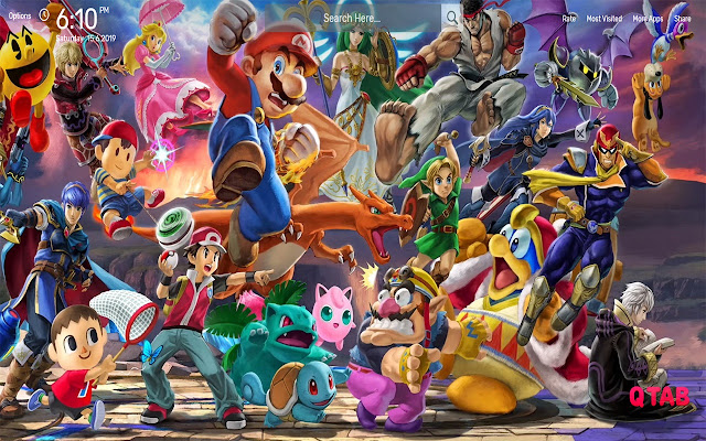 Super Smash Bros Wallpapers HD