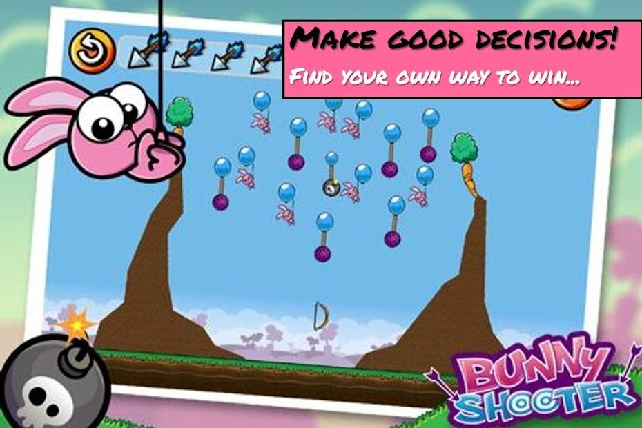 Bunny Shooter Free Funny Archery Game screenshot 3