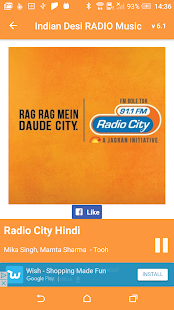 Indian Desi RADIO Music- screenshot thumbnail