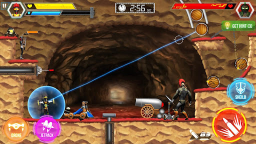 Mr Shooter Offline Game -Puzzle Adventure New Game 1.24 screenshots 22