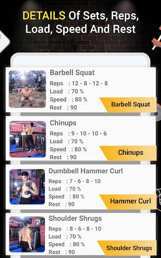 Pro Gym Workout (Gym Workouts & Fitness) 5.4 Screenshots 24