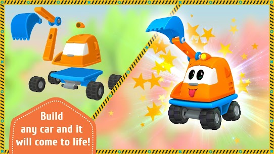 Leo the Truck and cars: Educational toys for kids 8
