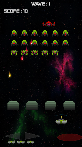 Invaders Deluxe - Retro Arcade Space Shooter FREE ss3