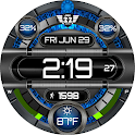 Techno 1 Animated Watchface for WatchMaker icon