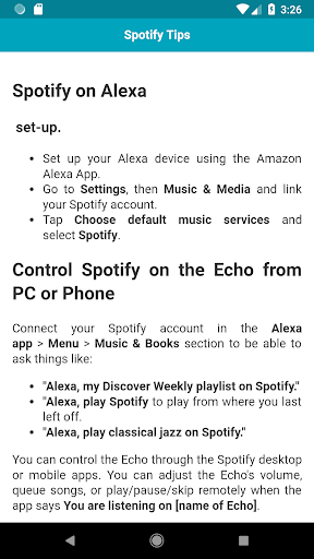 Tips & Tricks for Amazon Echo Dot 1.0.1 screenshots 2