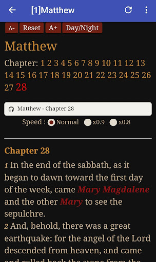 King James Audio - KJV Bible Free 3.6.1 screenshots 6