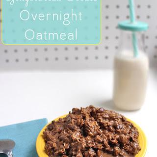 Gingerbread Overnight Oatmeal