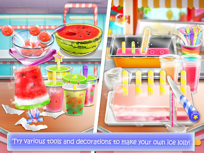 Ice cream lollipop maker cook make food games apps on google play screenshot image ccuart Image collections