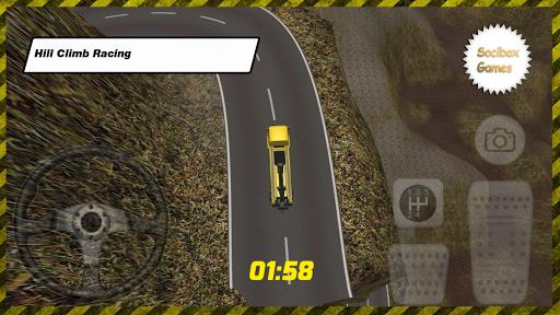 新しいトラックヒルレーシングHDを登ります