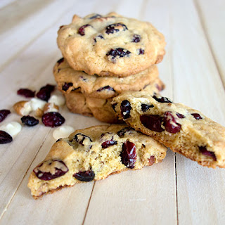 White Chocolate and Cranberry Cookie.