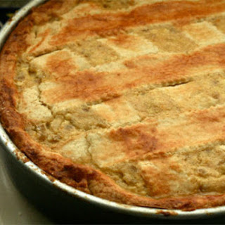 Pastiera (Ricotta and Cooked Grains Cake).