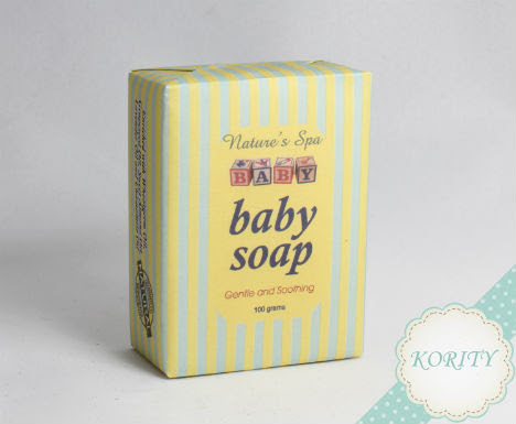 Nature's Spa Baby Soap