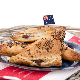Kangaroo Puff Pastry Pockets.