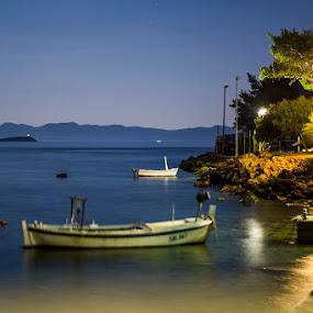 trstenik by Lucija Janša - Landscapes Starscapes ( croatia, sea, seaside, beach, trstenik )
