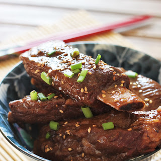 Sweet and Sour Spare Ribs.