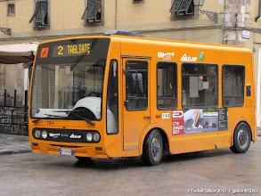 Photo: villanybusz az óvárosban