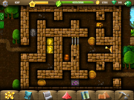 Diggy's Adventure: Fun Logic Puzzles & Maze Escape 1.5.207 screenshots 4