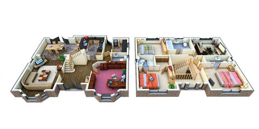 3d Home Floor Plan floor plan 3d Home Floor Plan Designs Screenshot