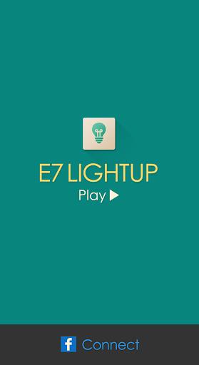 E7 Lightup - Brain Puzzle