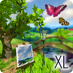 Parallax Nature: Summer Day XL 3D Gyro Wallpaper Icon
