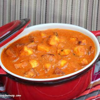 Paneer Butter Masala – No Onion No Garlic Version Recipe