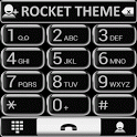 Theme Silver Glass RocketDial icon