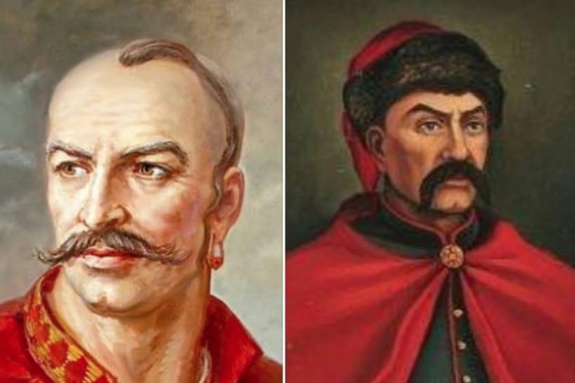 Іван Гонта і Максим Залізняк