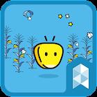 Oksusu X Launcher planet theme icon