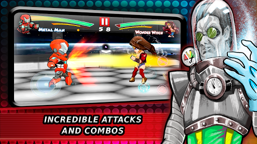 Superheroes Fighting Games Shadow Battle apkpoly screenshots 5