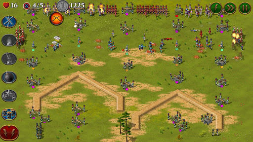 Code Triche 1812. Napoleon Wars TD Tower Defense strategy game APK MOD (Astuce) screenshots 4