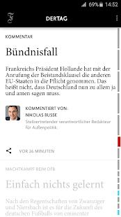 F.A.Z. Der Tag - Nachrichten - náhled