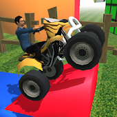 ATV Trial Racer: 3D Toys World
