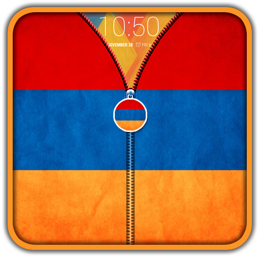 Armenia Flag Zipper UnLock 工具 App LOGO-硬是要APP