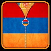 Armenia Flag Zipper UnLock APK for Bluestacks