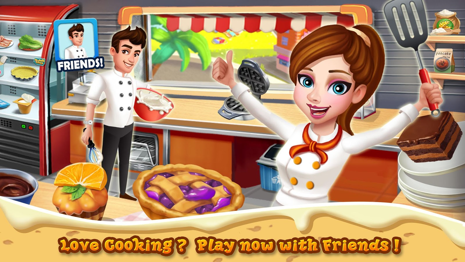 Rising Super Chef 2 : Cooking Game- screenshot