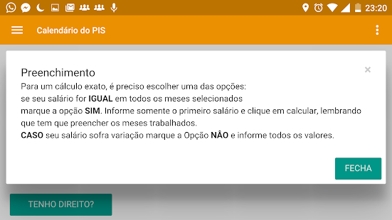 Calendário do PIS 2016- screenshot thumbnail